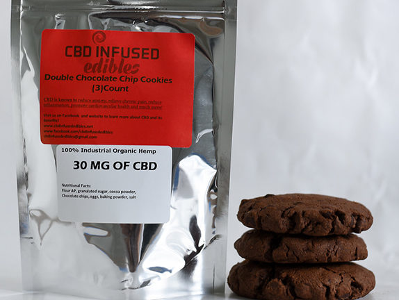Double Chocolate Chip Cookies - 30mg of cbd.jpg